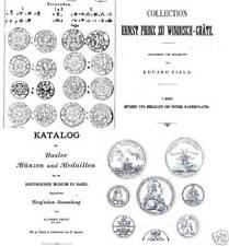 DVD 255 books on coins of Austria Switzerland Liechtenstein RDR Habsburg