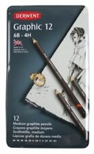 Wooden 4H Hardness Pencils & Charcoal