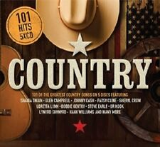 101 COUNTRY 5 CD SET (New Release May 18th 2018)