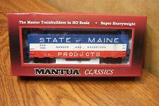 MANTUA CLASSICS/MRC 41' STEEL REFRIGERATOR CAR BANGOR & AROOSTOOK #2528 HO SCALE