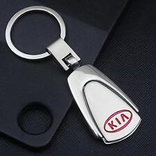 For KIA Car Logo Titanium Keyring Keychain Key Chain Ring Gift With Box