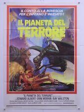 IL PIANETA DEL TERRORE fantahorror Clark con Albert Moran Englund manifesto 1982