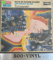 "The Moody Blues Days Of Future Passed Vinyl 12"" LP Deram DML 707 1967 EX / VG+"