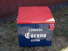 Vintage Cerveza Corona Extra Beer Cooler ! Holds a case