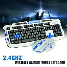 2.4G Gaming Wireless Keyboard and Mouse Set For Computer Multimedia Gamer