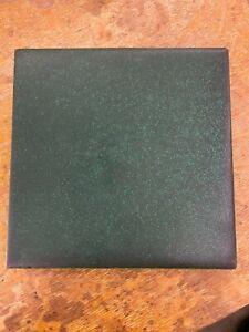 "Rookwood Faience Vintage Field Tile Matt Green  6""x 6"""