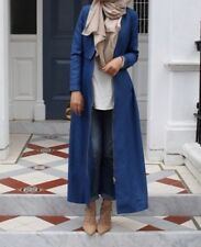 Turkish Style Blue Long Jacket Size UK 8