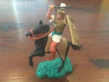 Timpo Mounted Roman (4) - Toy Soldier - 1960's