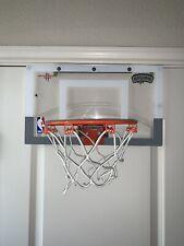 Mini Basketball Hoop Over The Door Indoor Sports Spalding NBA SAR