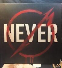 Metallica Through the Never Boxed LP Colored Vinyl Record 3 LP NM