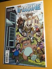 Imagine Agents #1 Nm 9.4 2nd Printing🔑Variant Rare Collectible by Boom Studios