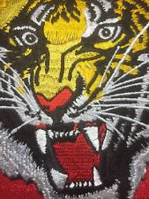 Brilliant Color Tiger Patch Emblem - Beautiful Eyes On Exotic Big Cat S70C