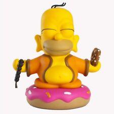 "Kidrobot x Simpsons HOMER SIMPSON BUDDHA 7"" VINYL ART FIGURE statue figurine"