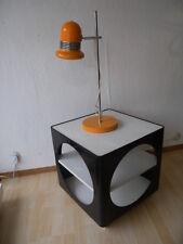Design Würfel Beistelltisch Tisch Couchtisch Space Age 60er 70er Mid Century
