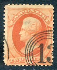 U.S. Stamps, Scott #183, Used, Fancy Cancel, Value: $40*.  [0832]