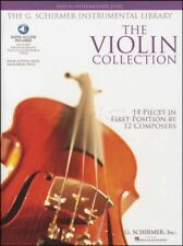 The Violin Collection Easy to Intermediate Sheet Music Book with Audio