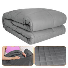 Pro 60*80in/15lb Weighted Heavy Blanket Adult Faster Fall Asleep