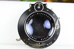 EX-Vintage Schneider Kreuznach 210/4.5 Xenar lens for 4X5 & 8X10 larger format