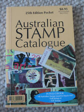 Australian Stamp Catalogue 25th Edition Pocket New