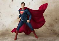 S.H.Figuarts SUPERMAN JUSTICE LEAGUE Action Figure Premium BANDAI NEW from Japan