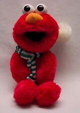 "Sesame Street HOLIDAY CHRISTMAS ELMO IN SANTA HAT 14"" Plush STUFFED ANIMAL Toy"