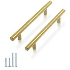 30 Brushed Brass Gold Cabinet Pulls