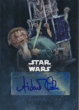 Topps Star Wars The Force Awakens Chrome Autograph Auto Aidan Cook Bobbajo