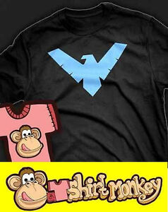 Nightwing T-shirt. Childrens / kids. All Colours + Sizes