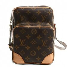 9-24 Louis Vuitton Monogram Canvas Leather Amazone Crossbody Bag