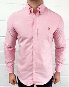 Polo Ralph Lauren Oxford Button Down Cotton Shirt For Men - Custom Fit