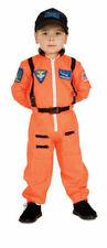 Astronaut Child Costume NASA Orange Small Space Jumpsuit Rubie's 4-6 Boy's