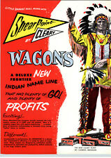 1962 PAPER AD 6 PG Toy Play Coaster Wagons Warrior Chieftain Flaming Arrow Happy