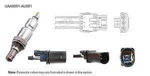 NGK NTK Oxygen Lambda Sensor UAA0001-AU001 fits Audi A5 3.2 FSI (8F7) 195kw, ...