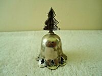 """Vintage Made In India Christmas Tree Bell """" BEAUTIFUL COLLECTIBLE ITEM """""""