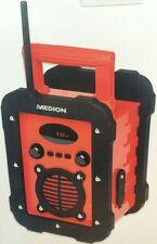 Medion Outdoor Radio Baustellen Radio Freizeit Radio MD84815 UKW-/MW-Radio