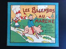 Joli ancien album à Colorier découper Les billenbois au marché Ed Gérardin TBE