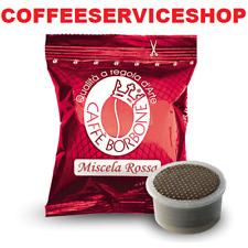 200 CAPSULE CAFFE' BORBONE MISCELA ROSSA COMPATIBILE LAVAZZA ESPRESSO POINT