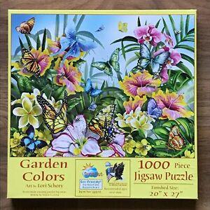 SunsOut GARDEN COLOURS 1000 Pieces Jigsaw Puzzle (Lori Schory)