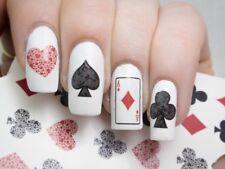 Playing Cards Nail Art