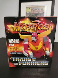 Transformers Hot Rod Hard Hero Bust