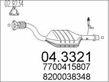 CATALYSEUR POUR RENAULT CLIO II 1.4 16V,1.6 16V,KANGOO 1.6 16V