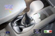 Cuffia leva cambio Fiat Panda 4x4 1986>2003marce cuffie Ecopelle nera black kit