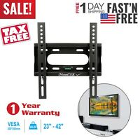 "Fixed Slim TV Wall Mount Bracket For 23""26""27""32""37""40""42"" inch LED LCD PLASMA"