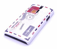 Schutzhülle f Sony Xperia S Lt26i Case Hard Cover Tasche Brief Air Mail Post