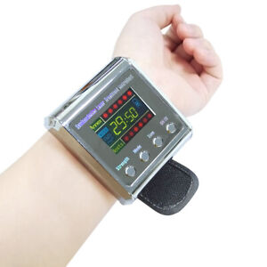 Laser Physiotherapy Wrist Watch Low Level Laser Therapy Sinusitis Hypertension