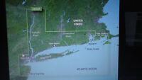 Bluechart G2 VISION VUS004R FOR GARMIN GPS MARINE MAP NEW YORK COMES ON SD CARD