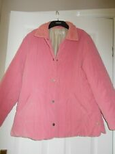 Women's Coat size 16 by Marks and Spencer Pink Poppers Padded  jacket
