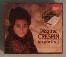 regine crespin  UN PORTRAIT   CD NEW factory sealed / crack on front case