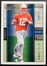 2000 Upper Deck Victory #326 Tom Brady Rookie Reprint - Mint - Patriots