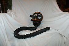 Msa Full View Gas Mask 7 212 3 With 32 Of Hose Attached Great Condition